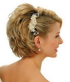 Wedding Short Bob Hairstyles 2014 ~ http://wowhairstyle.com/reviews-of-women-hairstyles-2014/