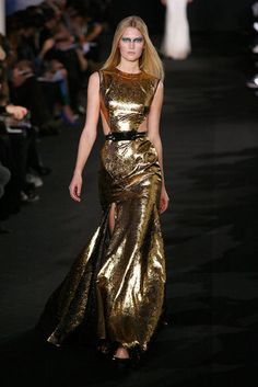 Prabal Gurung Fall 2012: takes confidence to wear something like this, but this dress was my pick for pal Carmin...