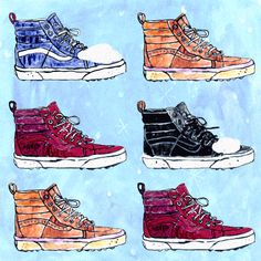 — Put the new Vans All Weather Sk8-Hi MTE at the top...
