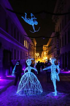 Lux Helsinki festival brings light to the dark winter days of Helsinki every January. #Helsinki