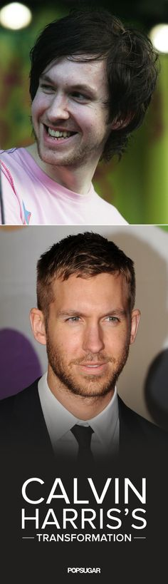 Before Calvin Harris became the superhot DJ posting shirtless selfies on social media, he looked a bit different. Years ago, before he was Taylor Swift's boyfriend, he had long, dark hair and sported bright t-shirts when he hit the spotlight.