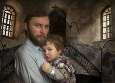 Ivan Zhuk. In the church of the nativity