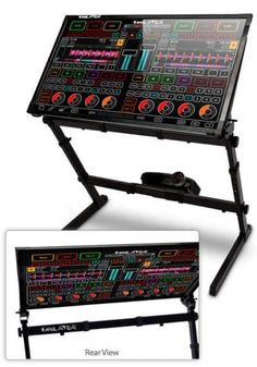 Emulator DVS - DJs now have a new high-tech toy to go after from SmithsonMartin Inc. called the Emulator DVS, which is an advanced midi controller. House Music, Music Is Life, Music Production Equipment, Dj System, Control System, Dj Setup, Dj Gear, Ableton Live, Dj Equipment