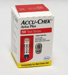 ACCU-CHEK Aviva Plus Mail Order Test Strips 50-Count Box - http://www.at-health.com/health-personal-care/medical-supplies-equipment/diabetes-care/accuchek-aviva-plus-mail-order-test-strips-50count-box-com/ - #DiabetesCare