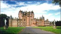 Glamis Castle, Dundee, Scotland