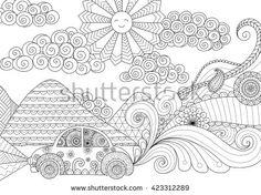 Coloring Book Vetores e Vetores clipart Stock | Shutterstock