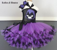 Inspired by Raven Inspired Teen Titans by RufflesNBowties on Etsy