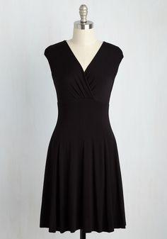 Public Speaking of Which Dress in Black