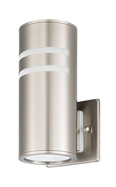 IP54 Waterproof Porch Light Up//Down Cylinder for Garden /& Patio Stainless Steel Outdoor Wall Light Fixture UL Listed