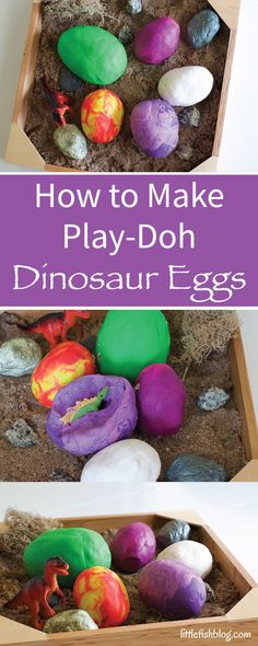 """Do you have a little Dinosaur fan? Little M has beenreally into Dinosaurs recently. He loved watching movie – so now it's all about dinosaurs! Healso loves playing with play-doh, soI thought it would be fun to make some play-dohdinosaur eggs! Disclosure: Affiliates links are included. If you choose to buy through one of these...</p><p><a class=""""more-link"""" href=""""http://littlefishblog.com/making-play-doh-dinosau..."""