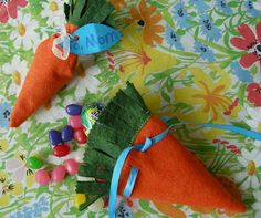 carrot good bags and other cute Easter gifts- Betz White