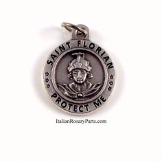 Saint Florian Medal Patron of Firemen, Fire Fighters