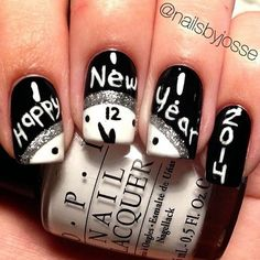 New Black And White Nail 2014