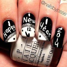 New Black And White Nail 2014