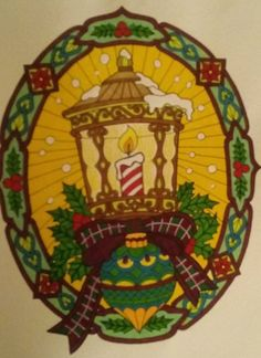 ColorIt Free Coloring Pages Colorist: Tammy Myers #adultcoloring #coloringforadults #adultcoloringpages #12FreeChristmasPages