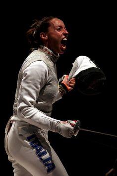 Elisa Di Francisca of Italy, Fencing