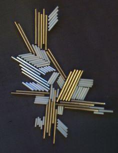 Geometric embellishment | Gabrielle Miller