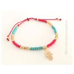 ✨✋ #hamsa #bracelet #protective #jewel #handoffatima #woman #protective #jewerly #accessories #gold #hand #moda