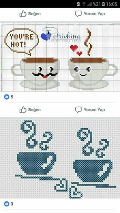 1 million+ Stunning Free Images to Use Anywhere Modern Cross Stitch Patterns, Counted Cross Stitch Patterns, Cross Stitch Designs, Cross Stitch Embroidery, Cross Stitch Kitchen, Cross Stitch Heart, Plastic Canvas Patterns, Cross Stitching, Crochet