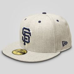 New Era - SF Giants New Era Fitted Cap in Heather
