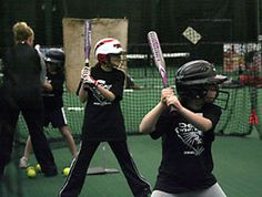 Bulls/Sox Academy offers cage rentals which is the perfect way to practice your hitting all year long.
