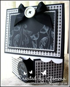 Gem's little creations: Little Claire's Monthly Challenge #31... Cards with folds