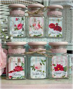 Shabby rose čajovničky - by Alice-in-wonderland...