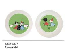 Tiuhti & Viuhti ruokalautanen (2 puoleisella kuvalla)