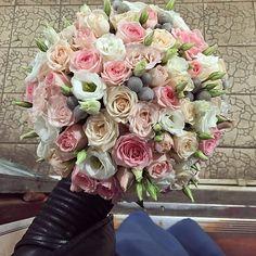 Нежный букет невесты -3500