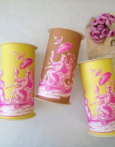 New boxes… Based on an 18th century French Chinoiserie print.
