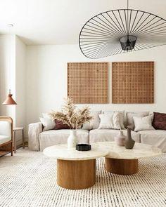 Boho Living Room, Living Room Interior, Home Interior Design, Home And Living, Modern Living, Cream And Black Living Room, Living Spaces, Beige Living Rooms, Lights For Living Room