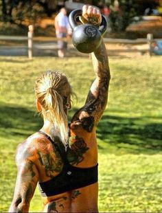 Bad ass!  Strong girl with tattoo and not a treadmill in sight!!!! Crossfit Inspiration, Body Inspiration, Fitness Inspiration, Fitness Models, Fitness Women, Crossfit Women, Crossfit Chicks, Crossfit Athletes, Sporty Girls