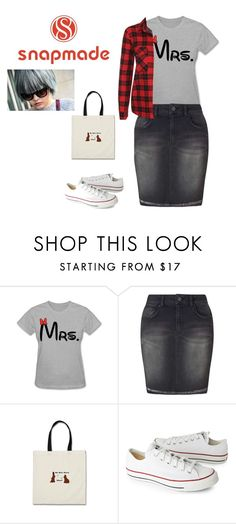 """""""SNAPMADE"""" by elza-345 ❤ liked on Polyvore featuring Miss Selfridge, Converse and NLY Trend"""