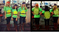 diy ninja turtles adult costumes   DIY Ninja Turtles Halloween costume   Season of the Witch