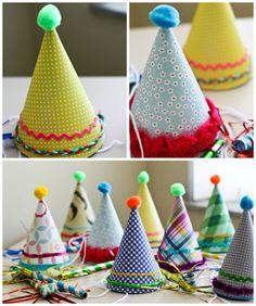 diy felt first birthday hat www ithappensinablink com birthday