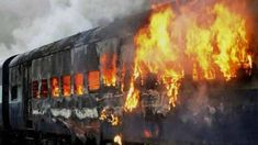 Bihar Train Accident : 37 Killed & Angry Mob Set Coaches On Fire . Train, Iowa, Coaching, Fire, Alcohol, Training, Strollers