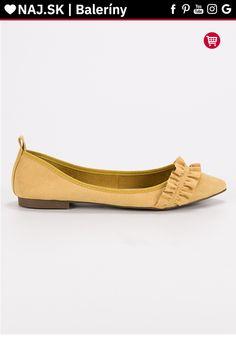 Semišové žlté baleríny s volánom Corina Tommy Hilfiger, Platform, Adidas, Flats, Shoes, Fashion, Flat Shoes Outfit, Shoes Outlet, Fashion Styles