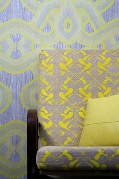 sixhands wallpaper and fabric.