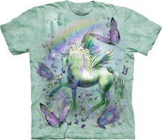 Unicornio y mariposas. #3402