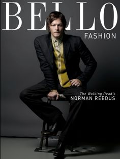 Norman Reedus for Bellow Mag  Photog: Karl Simone    Hair by- Kristan Serafino for @SerafinoSays