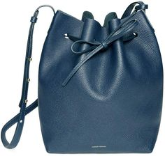 7575b5faacb0b Tumble Bucket Bag  navy bucket bag Bucket Bag