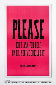 The New Rules of Work, by creative agency Division of Labor www.chroniclebook...