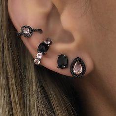 Jewellery For Lady - Ear Jewelry, Body Jewelry, Jewelery, Jewelry Accessories, Fashion Accessories, Cute Ear Piercings, Piercing Tattoo, Bling, Stud Earrings