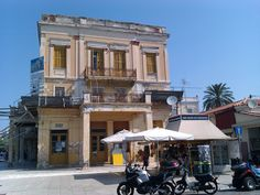 Aegina port, old house Planet Earth 2, Greece Travel, Greek Islands, Athens, To Go, Street View, Mansions, House Styles, Outdoor Decor