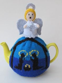 Religious Christmas Tea Cosy - True meaning of Christmas http://www.loveknitting.com/catalog/product/view/id/152087