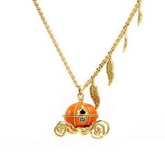Pumpkin Carriage Necklace (1) | Flickr - Photo Sharing!