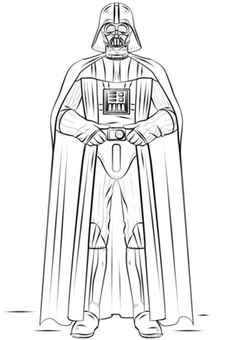 """star wars coloring pages darth vader - """"Star Wars"""" is the film that has captured the imagination the most in over 20 years. And we can't get enough of this """"Star Wars"""", of Luke Skywalker, D. Disfraz Darth Vader, Darth Vader Lego, Vader Star Wars, Lego Star Wars, Darth Vader Cartoon, Darth Maul, Star Trek, Star Wars Coloring Book, Lego Coloring Pages"""