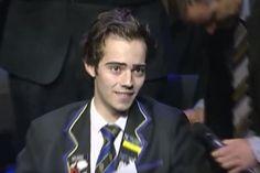 Este é o último discurso de um jovem com cancro terminal