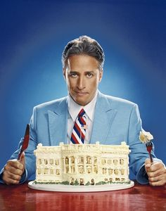 Jon Stewart.  I actually grew up with him at Beth El... in East Windsor, NJ.