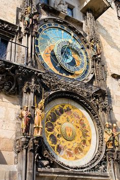 The Prague Astronomical Clock (Prague Orloj) is a medieval astronomical clock dating back to 1410 located in Prague, Czech Republic. The Orloj is mounted on the southern wall of Old Town City Hall in the Old Town Square.